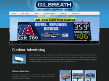 Web Design Project - Gilbreath Outdoor Advertising